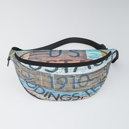 US Postage 1910 Giddings Texas Fanny Pack