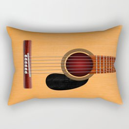 Acoustic Guitar Rectangular Pillow