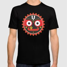 Lord Jagnnath Mens Fitted Tee Black SMALL