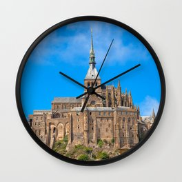 Mont Saint-Michel Wall Clock
