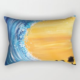 Tidal Wave Rectangular Pillow