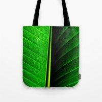 leaf Tote Bags featuring Leaf by Melanie Ann