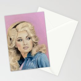 Queen of Country Dolly Parton Stationery Cards