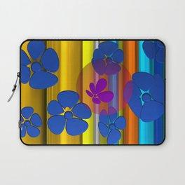 purple flower in pomp Laptop Sleeve