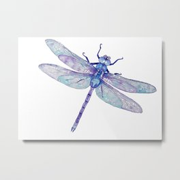 The Dragonfly Metal Print