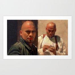 The Salamanca Brothers - The Cousins - Better Call Saul Art Print