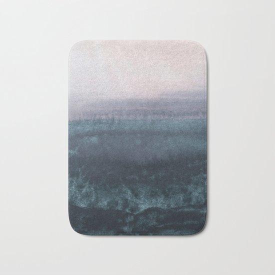 minimalist atmospheric landscape 1 Bath Mat