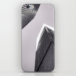 Twin Towers - 9/07/01 - Graphic 3 iPhone Skin