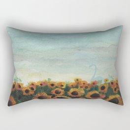 Gentle Nature Rectangular Pillow