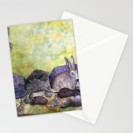 Jack's Family by Maureen Donovan Stationery Cards