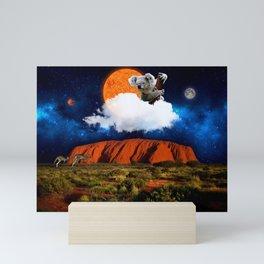 Thinking of Australia Mini Art Print