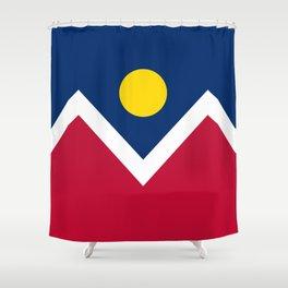 Denver, Colorado city flag - Authentic High Quality Shower Curtain