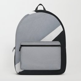 'London' Abstract acrylic on canvas Backpack