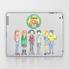 Daria and Friends Laptop & iPad Skin