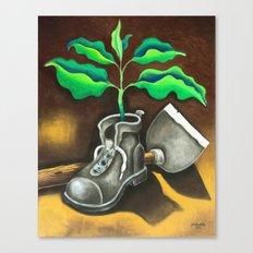 Las Huellas del Guajiro (the Guajiros's footprints) Canvas Print