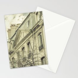 Neoclassical Style Buildings in Buenos Aires, Argentina Stationery Cards