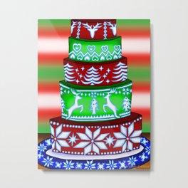 Christmas Artwork #10 (2017) Metal Print