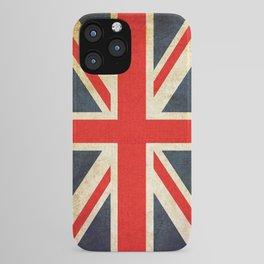 Vintage Union Jack British Flag iPhone Case