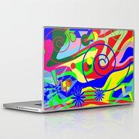 graffiti Laptop & iPad Skins featuring Graffiti by DesignsByMarly