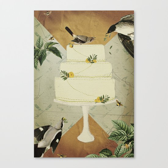 Let Them Eat Cake :: I Canvas Print