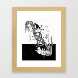 Mistakes Framed Art Print