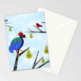 A Partridge in a Pear Tree Stationery Cards