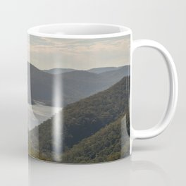 Looking toward Berowra Creek from Muogamarra Nature Reserve, Sydney Coffee Mug