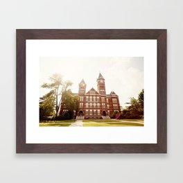 Samford Hall - Auburn University 2 Framed Art Print