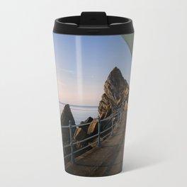 Meadfoot Beach Huts Travel Mug