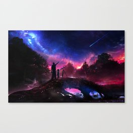 Dying star Canvas Print