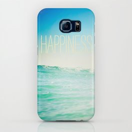 beachy happiness iPhone Case
