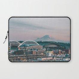 Seattle & Mount Rainier Laptop Sleeve