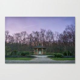 Townsend Park Gazebo Sunset Canvas Print