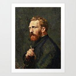 John Peter Russell - Vincent van Gogh - Digital Remastered Edition Art Print