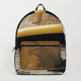 """Canoe Beach"" Backpack"