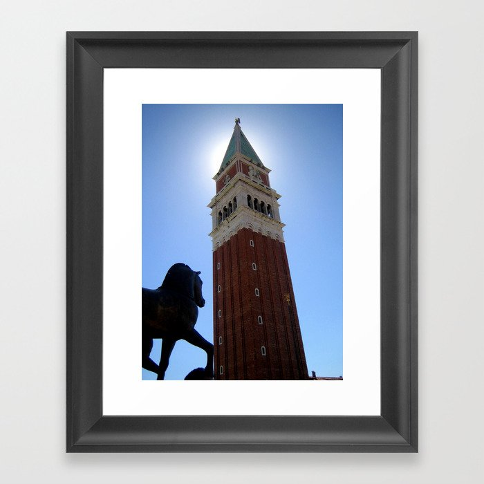 St. Mark's Square, Venice Framed Art Print