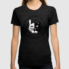 Death inspires me like a dog inspires a rabbit T-shirt