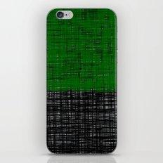 platno (green) iPhone & iPod Skin