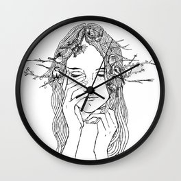 close your eyes, then you will see Wall Clock