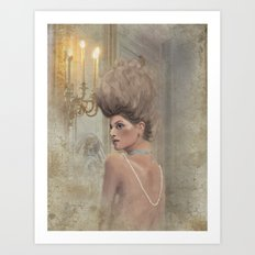 Cécile (Versailles) Art Print
