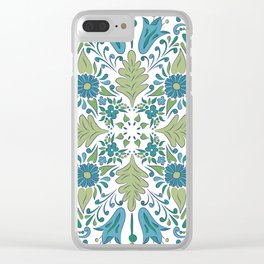 Spring Burst Clear iPhone Case