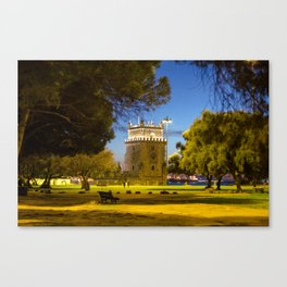 Belem Tower Lisbon Canvas Print