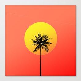 Cali Vice Canvas Print