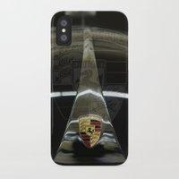 porsche iPhone & iPod Cases featuring Porsche 356 by Regina Hoer