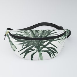 Tropical Summer Vibes Leaves Mix #2 #tropical #decor #art #society6 Fanny Pack