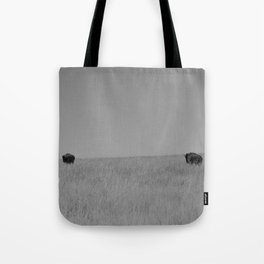 Two Tallgrass Bison Tote Bag