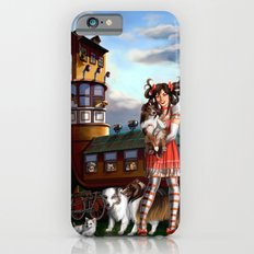 Gothic Lolita in the Shoe with Dogs Slim Case iPhone 6s