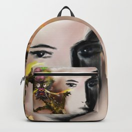 Dragon(loong) and woman Backpack
