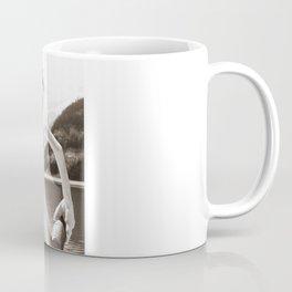 Naked Cowboy (sepia) Coffee Mug