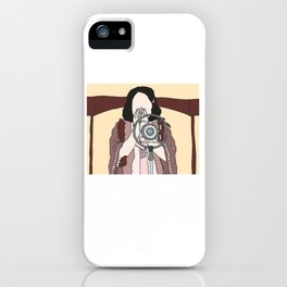 maybe this time [lady happy] iPhone Case
